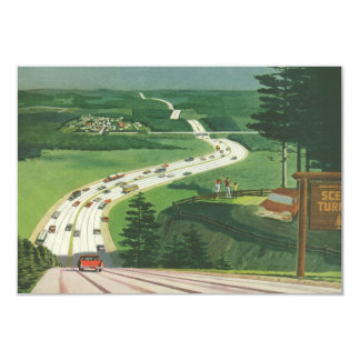 Vintage Scenic American Highways Change of Address Card