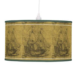 Vintage Schooner Pendant Lamp