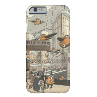 Vintage Science Fiction Steampunk Urban Paris Barely There iPhone 6 Case