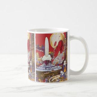 Vintage Science Fiction, the Lost City of Atlantis Classic White Coffee Mug