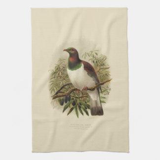 Vintage Science NZ Birds - Kereru Tea Towel