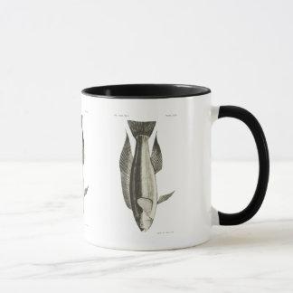 Vintage Science NZ Fish - Greenbone Mug