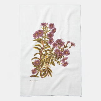 Vintage Science NZ Flowers - Olearia semidentata Kitchen Towel