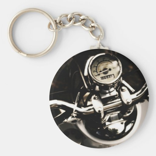 Vintage Scooter Keychain
