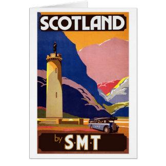 Vintage Scotland Card