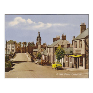 Vintage  Scotland, Lockerbie Postcard