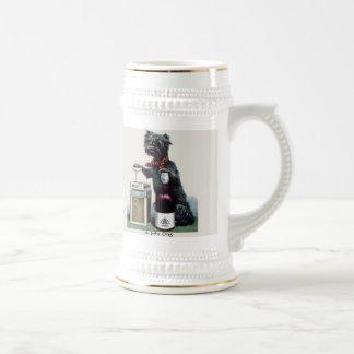 Vintage Scottie Stein Coffee Mug