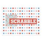 Vintage Scrabble Logo Postcard