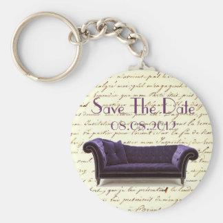 vintage scripts paris chandelier wedding basic round button keychain