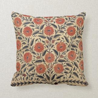 Vintage Scroll Flora Pillow