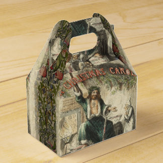 Vintage Scrooge Ghost of Christmas Present Favor Box
