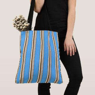 Vintage-Sea-Bags-Blue-Brown-Totes-Shoulder-Bag Tote Bag