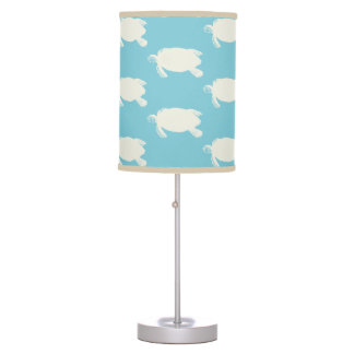 Vintage Sea Turtle Pattern Table Lamp