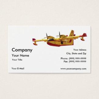 Vintage Seaplane Business Card