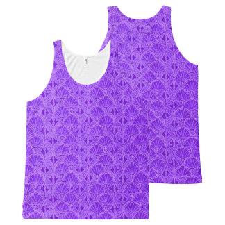 Vintage Seashells Purple