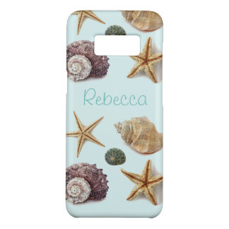 Vintage seashells shabby chic beach starfish Case-Mate samsung galaxy s8 case