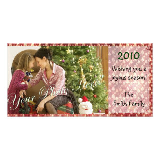 Vintage Seasons Greetings Photo Cards