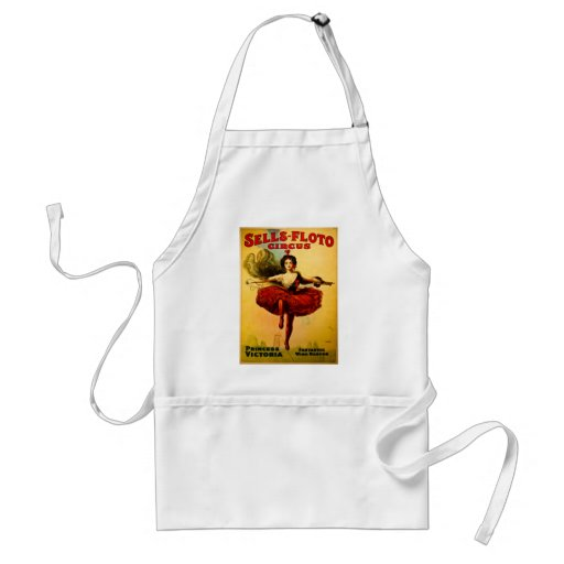 Vintage Sells-Floto Circus Poster Adult Apron