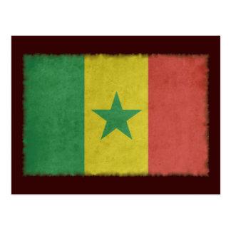 Vintage Senegal Postcard
