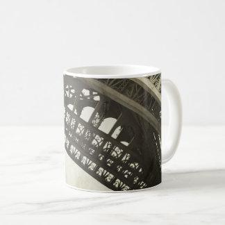 Vintage Sepia Eiffel Tower Arch Coffee Mug