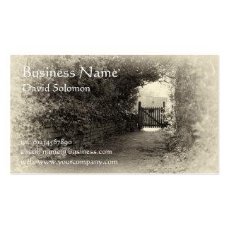 Vintage sepia rural Business Cards
