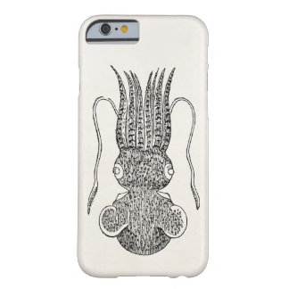 Vintage Sepiola Squid Squids Template Blank Barely There iPhone 6 Case