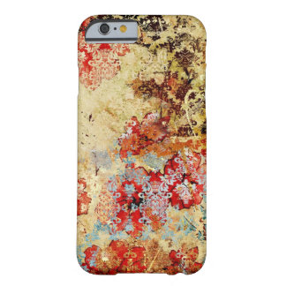 Vintage shabby chic floral damask iPhone 6 case Barely There iPhone 6 Case