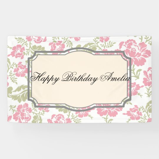 vintage,shabby chic,floral,retro,cute,girly,label, banner