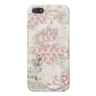 Vintage Shabby Queen Bee Case iPhone 5/5S Case
