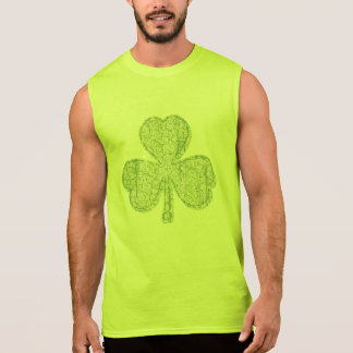 Vintage Shamrock Sleeveless Shirt