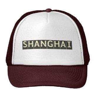 Vintage Shanghai Departure Board Trucker Hat