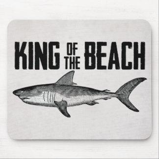 Vintage Shark Beach King Mouse Pad