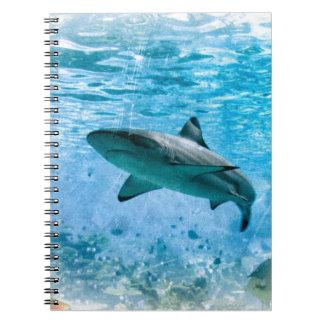Vintage Shark Notebook