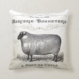 Vintage Sheep Pillow