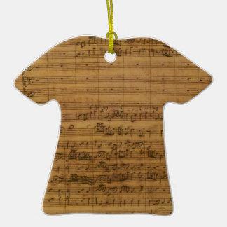 Vintage Sheet Music by Johann Sebastian Bach Ornaments