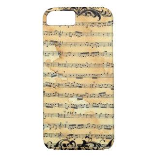 Vintage Sheet Music iPhone 8/7 Case