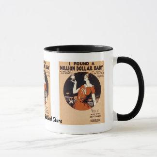 Vintage Sheet Music Mug
