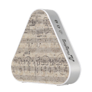 Vintage Sheet Music Pieladium Bluetooth Speaker
