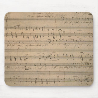 Vintage Sheet Music, Song of the Old Man, 1822 Mouse Pad