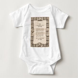 Vintage Shell advert from 1935 Baby Bodysuit