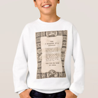 Vintage Shell advert from 1935 Sweatshirt