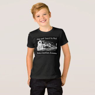 Vintage Ship and Travel By Rail T-Shirt