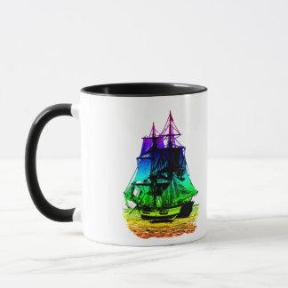 Vintage Ship Mug