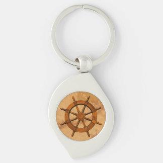 Vintage Ship Wheel Keychains