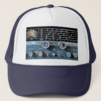Vintage Short Wave Radio Receiver Trucker Hat