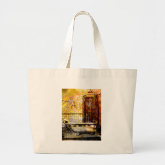 VINTAGE SHOWER BATH 2 LARGE TOTE BAG
