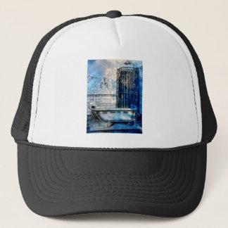 VINTAGE SHOWER BATH 3 TRUCKER HAT