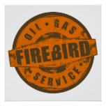 Vintage Sign Firebird Poster