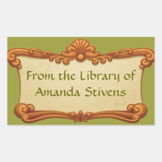 Vintage Sign Library Sticker