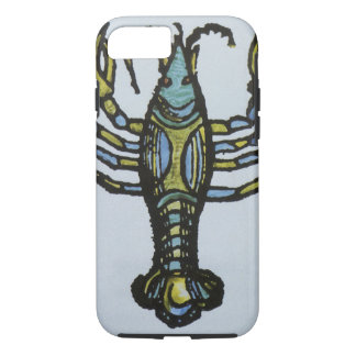 Vintage Sign of the Zodiac, Cancer the Crab iPhone 7 Case